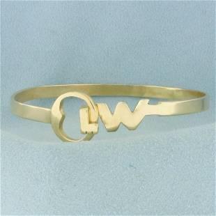 Key West Bangle Bracelet in 14K Yellow Gold