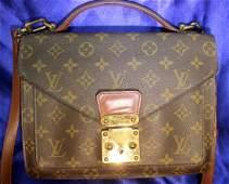 Vintage Louis Vuitton Authentic Handbag