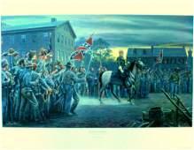 """""""Twilight in Gettysburg"""" Mort Kunstler print"""