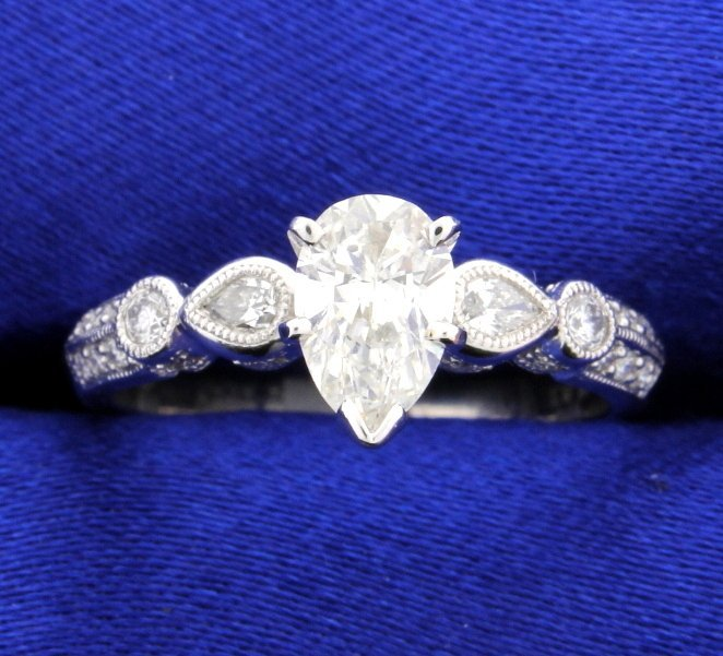 1.12 carat diamond ring