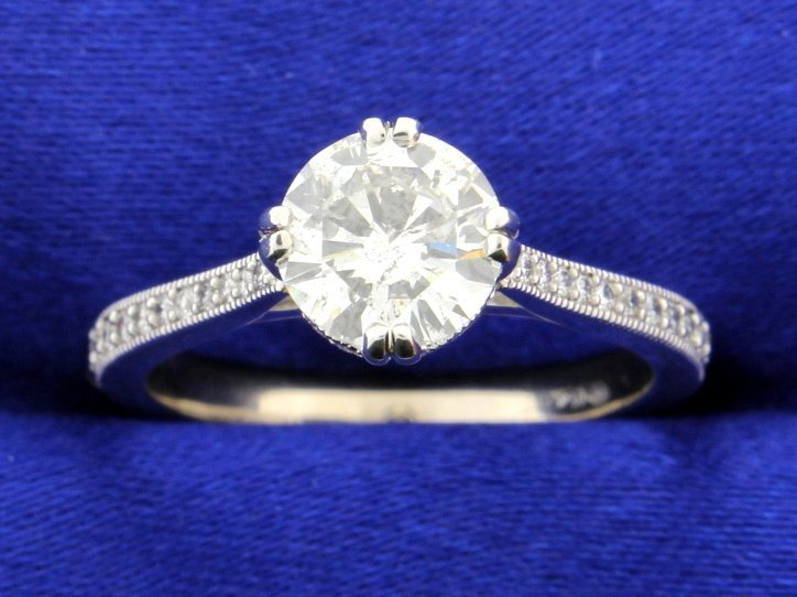 1.37 carat diamond ring