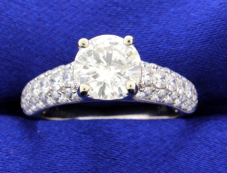 2.88 carat diamond engagement ring