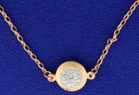 Swarovski Rose Gold Plated Necklace