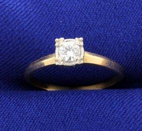 Vintage Diamond Solitaire