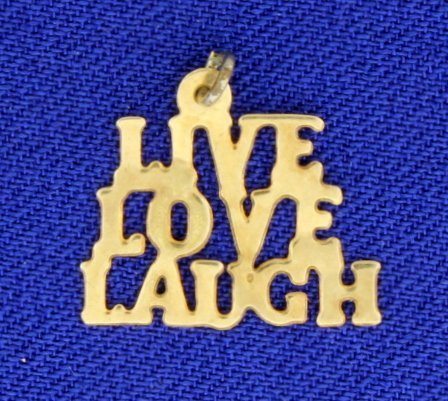 Live Love Laugh Pendant