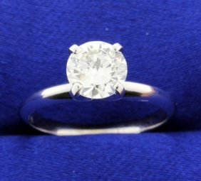 1.13 Carat Diamond Solitaire Ring