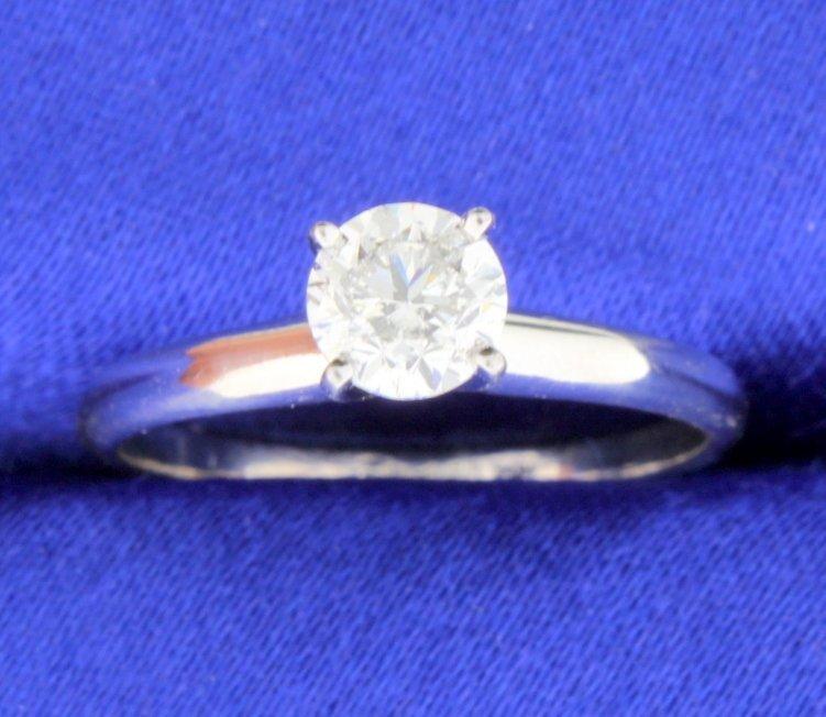 3/4 carat diamond solitaire ring