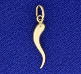 Italian Horn Pendant