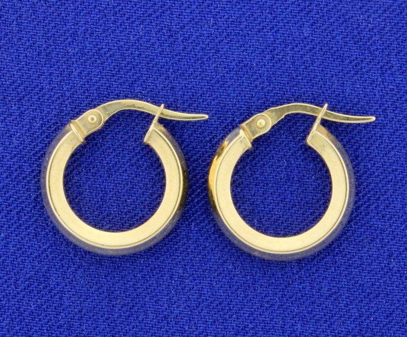 Hoop 14k Earrings