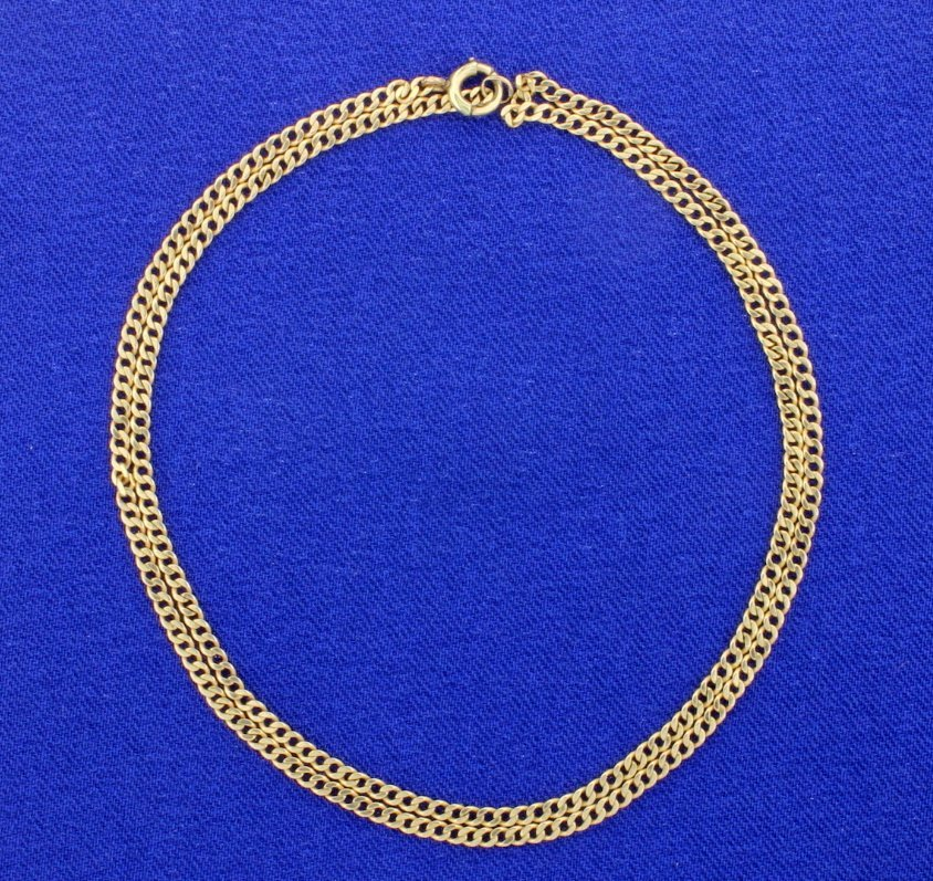 17 Inch Chain Link Necklace