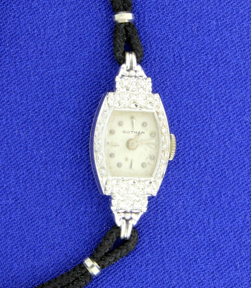 Vintage Diamond Gotham Watch