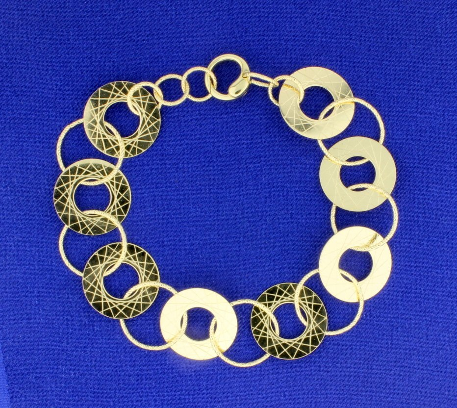 8.5 Inch Designer Bracelet