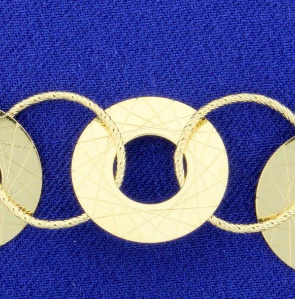 8.5 Inch Designer Bracelet - 2