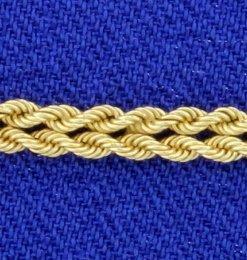 Double Rope Chain Bracelet