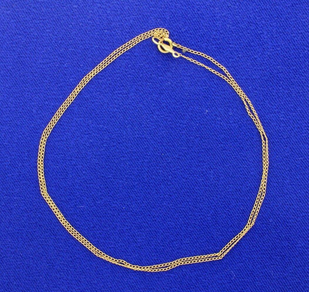 17.5 Inch Chain Link Neck Chain - 2