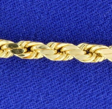 8 1/4 Inch Rope Style Bracelet - 2