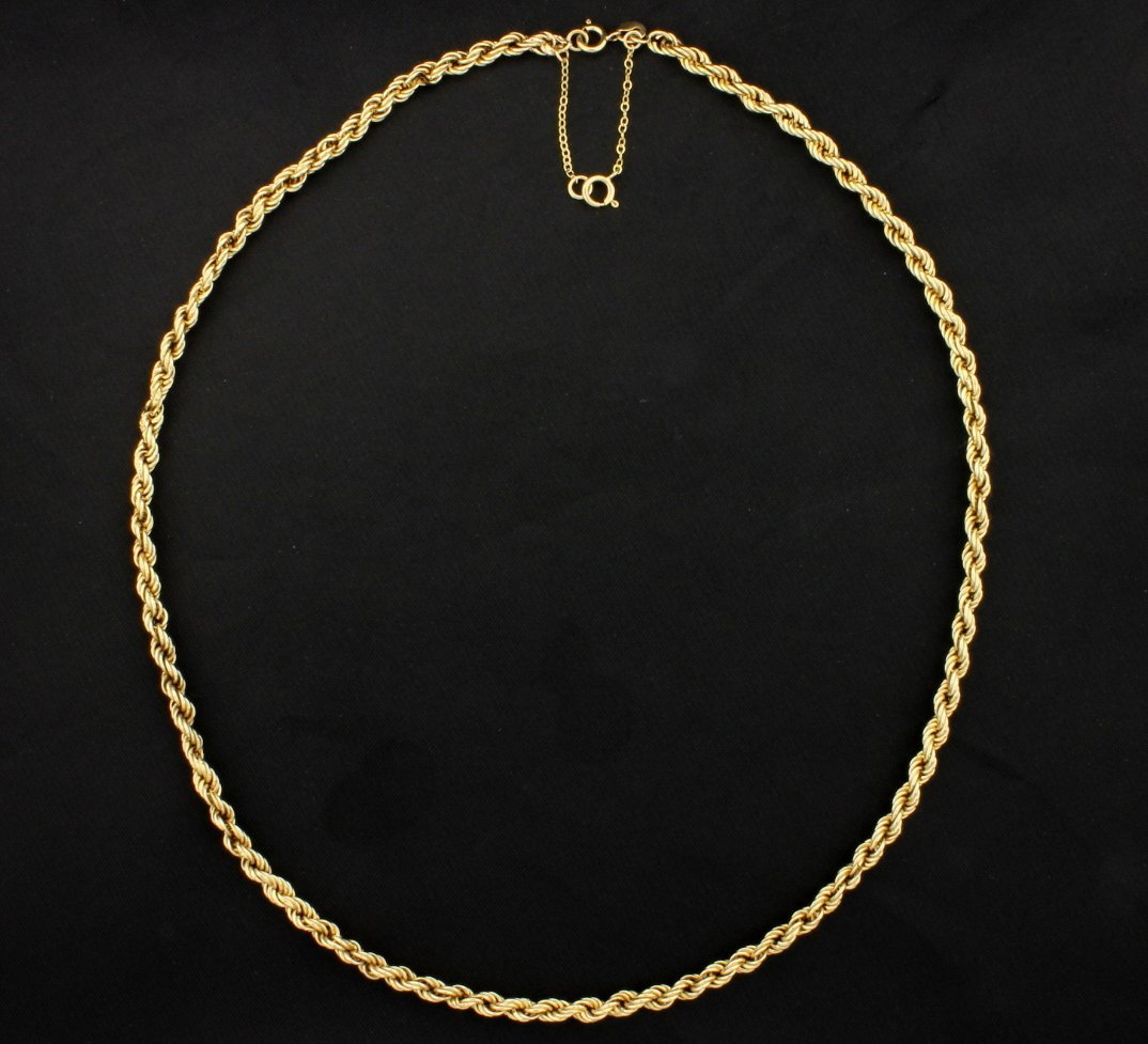 17 Inch Rope Style Chain