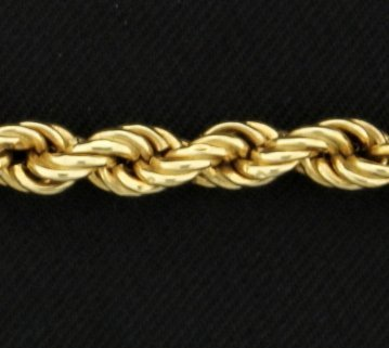 17 Inch Rope Style Chain - 2