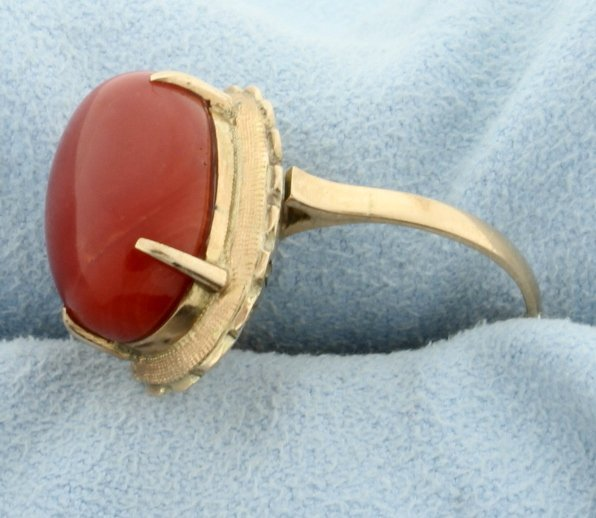 Red Coral Ring - 2