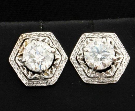 Unique 1.6ct TW Diamond Earrings
