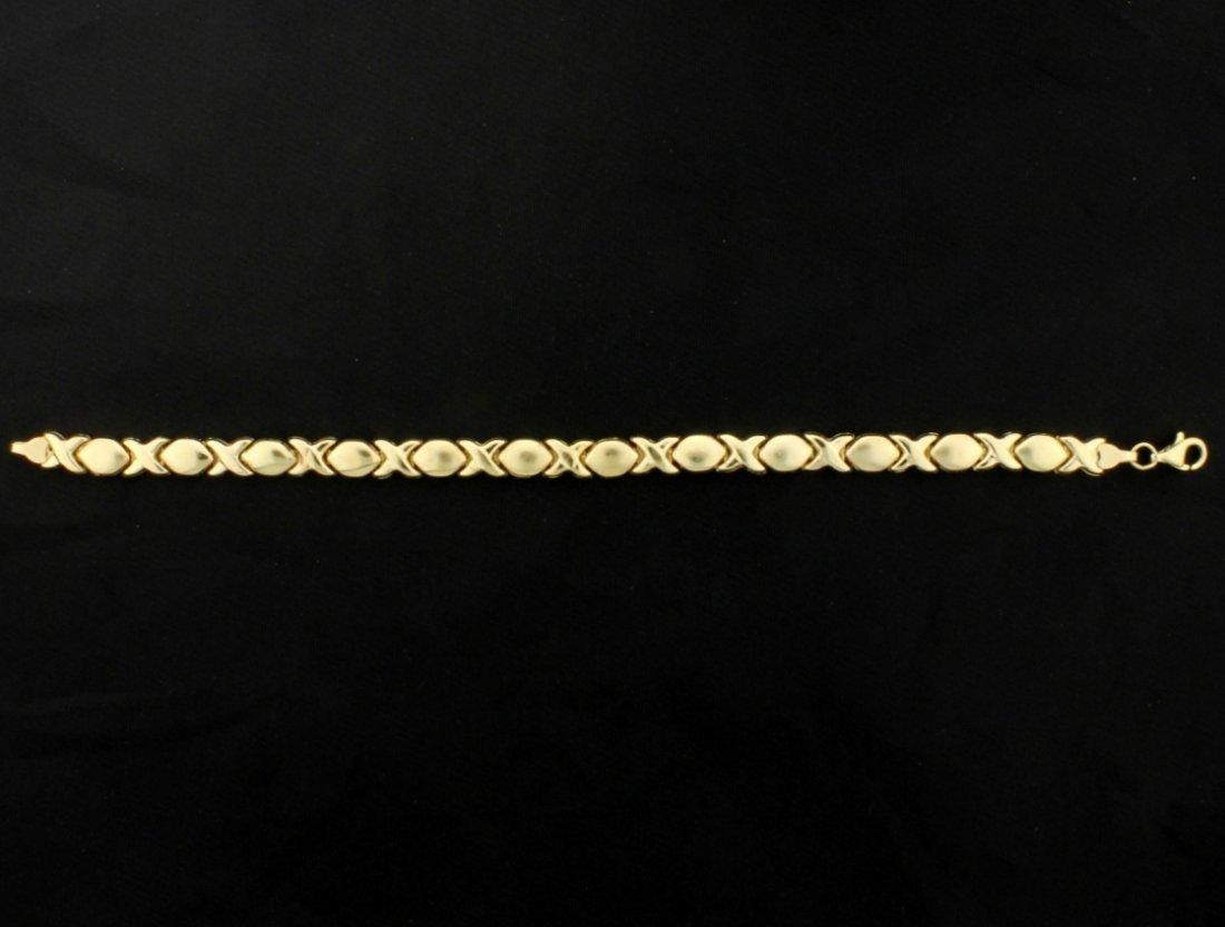 X's & O's 7 Inch Bracelet