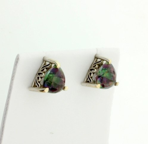 Mystic Topaz Earrings - 2