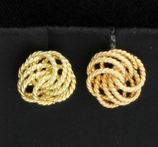 Twisted Knot Earrings