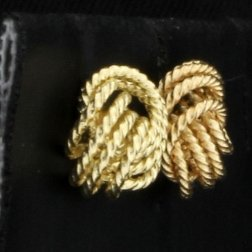 Twisted Knot Earrings - 2