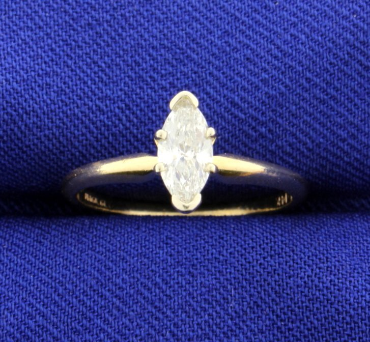 .57 Carat Diamond Solitaire 14k Ring