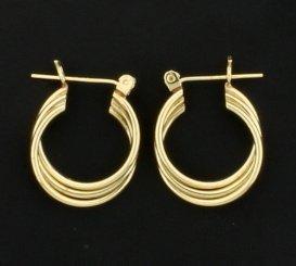 Small 14K Hoop Earrings