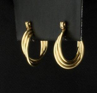 Small 14K Hoop Earrings - 2