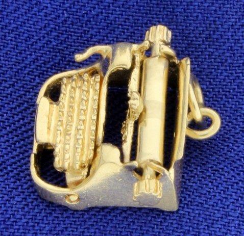 Typewriter Charm - 2