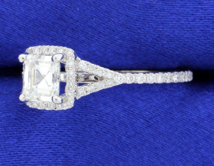 """1.27 carat """"Sylvie"""" diamond ring - 2"""