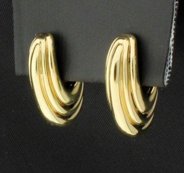 14K Hoop Earrings - 2