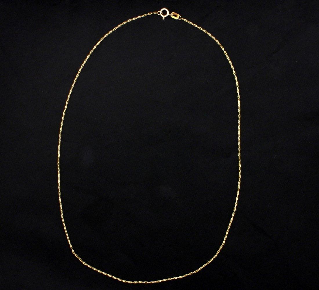 Italian Made 16 1/2 Inch Anchor Chain
