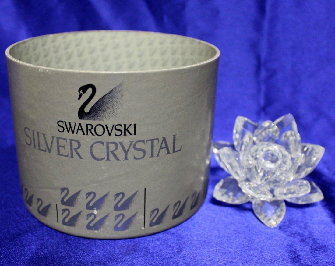 Swarovski Small Water Lily Candleholder