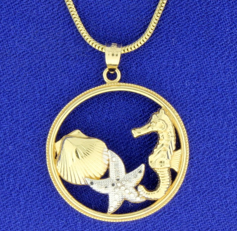 Sea Life Necklace - 2