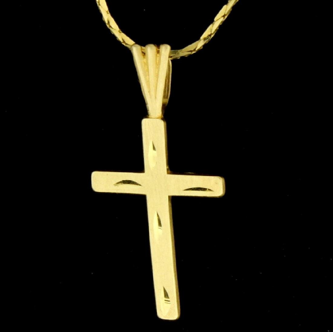 Cross Necklace - 2