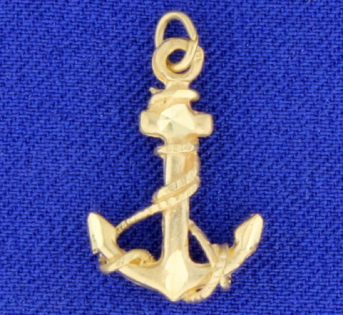Anchor Pendant or Charm