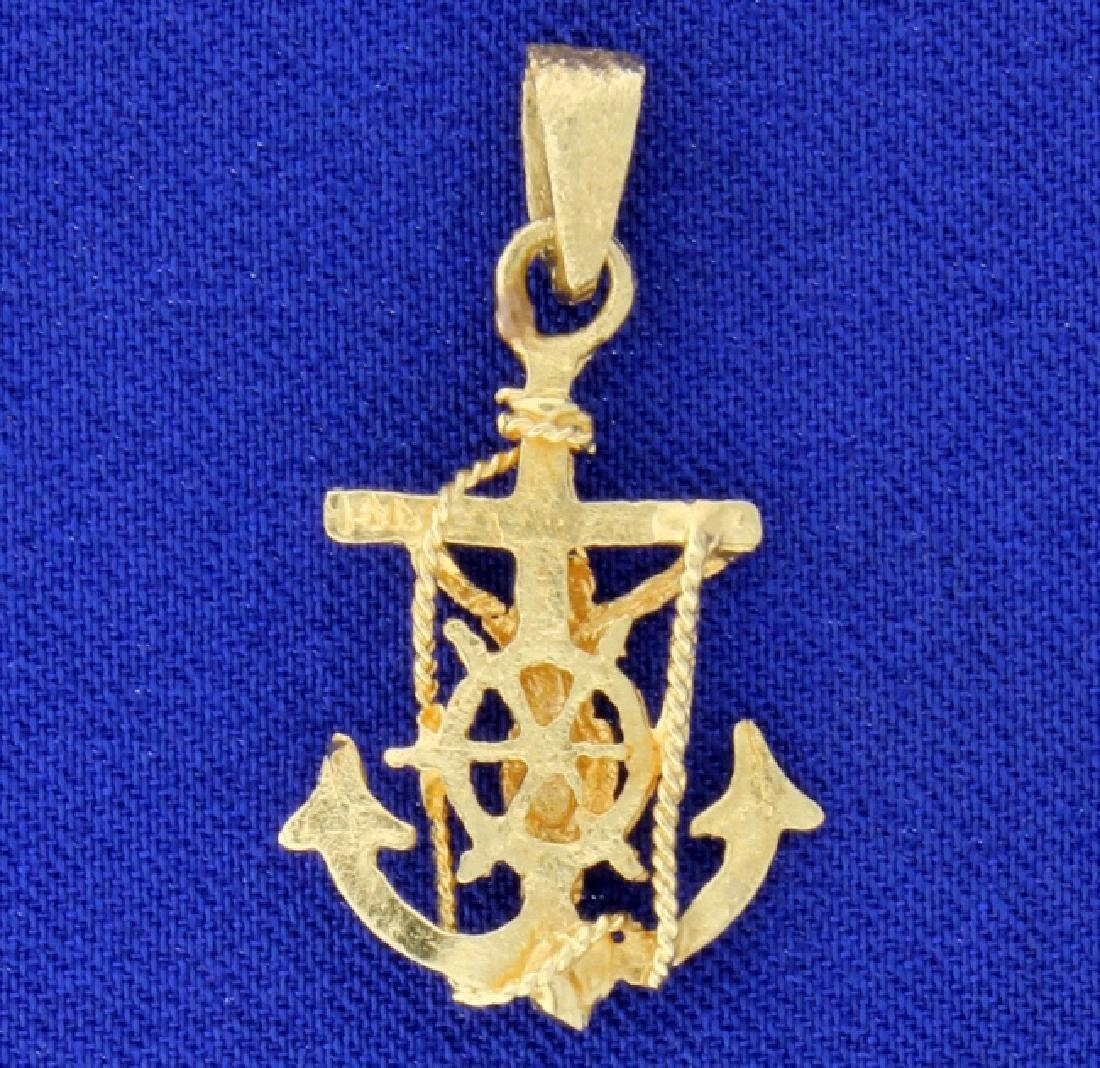 Anchor Pendant - 2