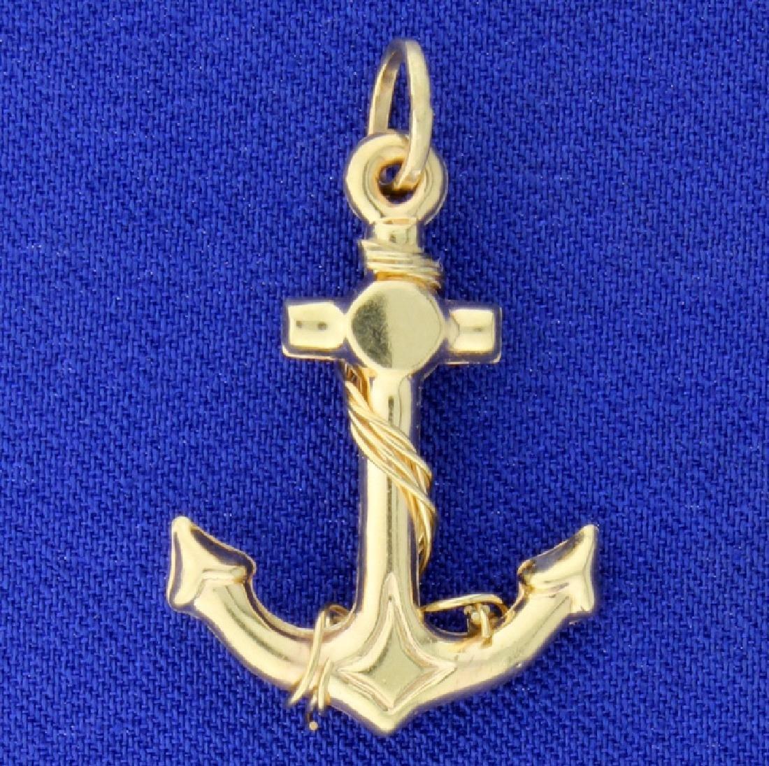 Anchor Pendant or Charm