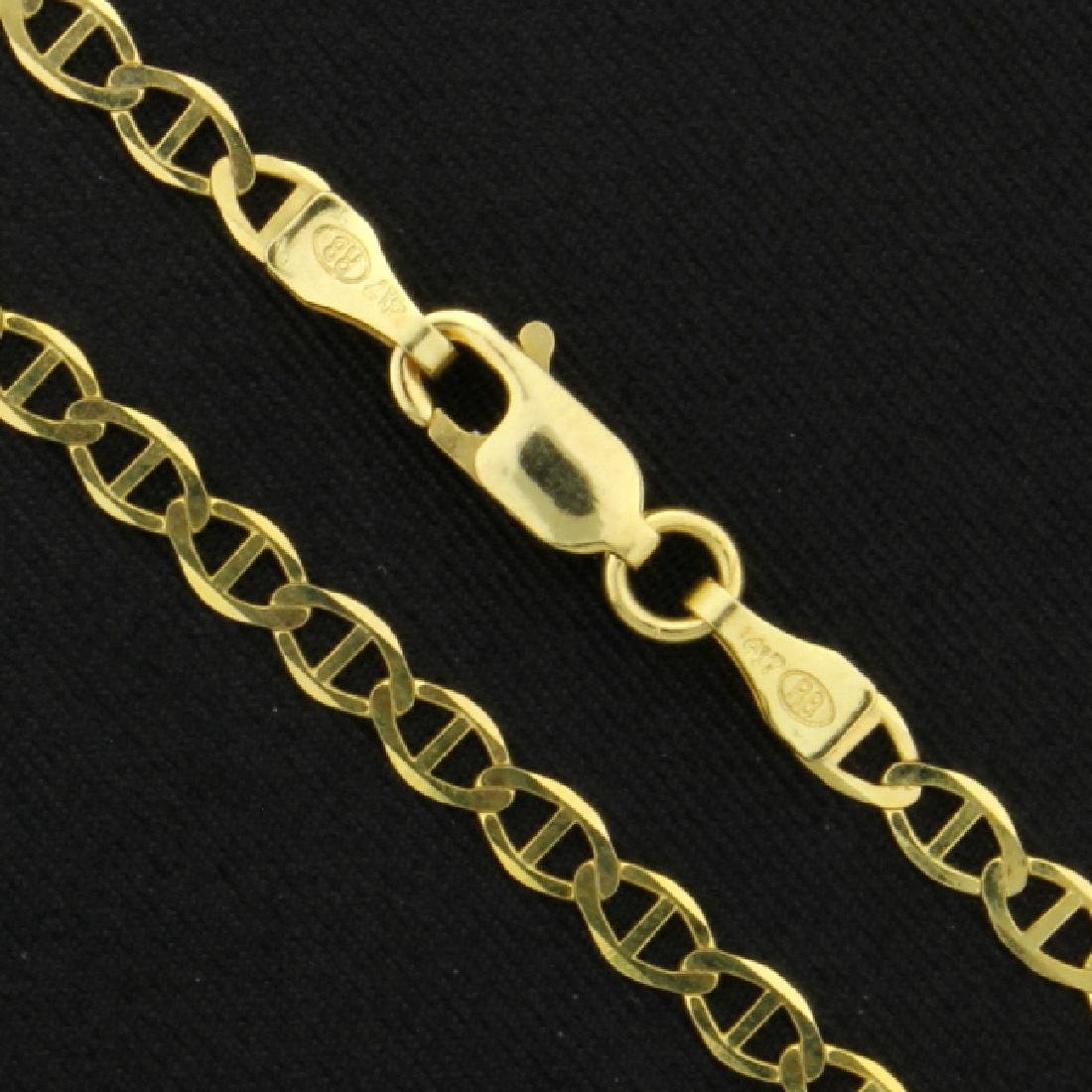 Italian Made 24 1/4 Inch Anchor Chain - 2