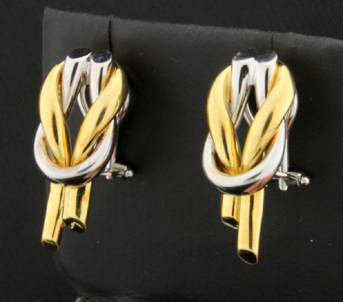 Italian Made 18K Earrings