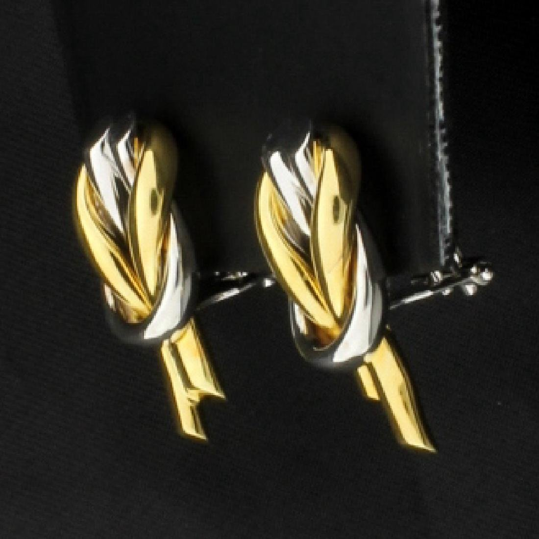Italian Made 18K Earrings - 2
