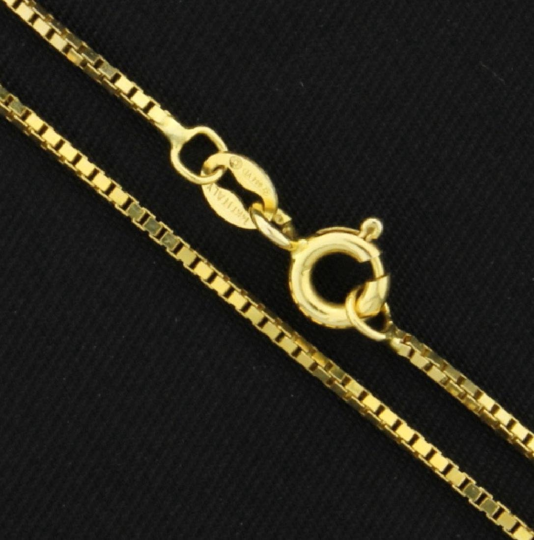 24 1/4 Inch Box Link Chain - 2