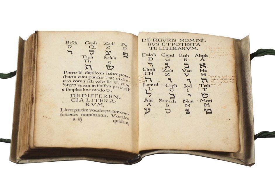 [HEBREW] AUROGALLUS. Compendium Hebreae Chaldeae