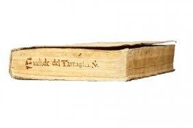 TARTAGLIA. Euclide Megarense acutissimo philosopho