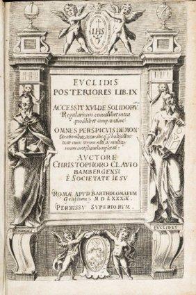 EUCLIDES. Euclidis Elementorum Lib. XV.
