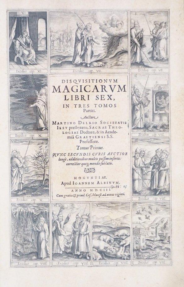 DEL RIO. Disquisitionum magicarum libri sex - 2