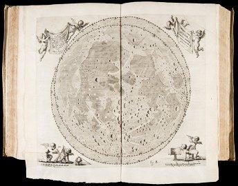 HEVELIUS. Selenographia: sive Lunae description